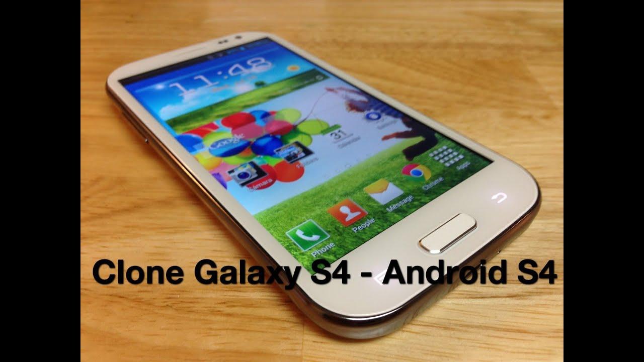 Android S4 Celular Chino