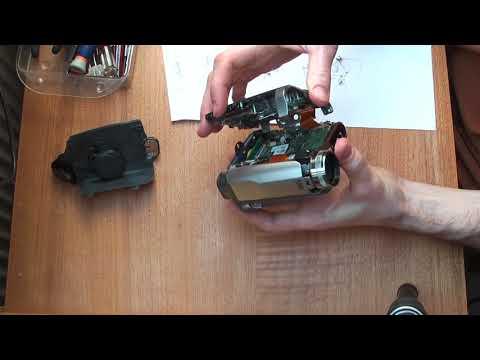 JVC GR-D725 disassemble miniDV Camcorder