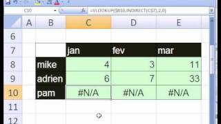 Excel Magic Trick #231: VLOOKUP w 3 Tables on Diff Sheets