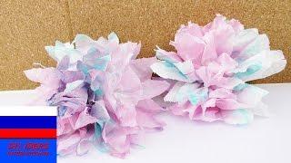 Бумажные цветы из покрашеных в воде салфеток своими руками(Бумажные цветы из покрашеных в воде салфеток своими руками подписаться бесплатно ;-) http://www.youtube.com/channel/UCJpwGAdcG..., 2016-06-04T12:00:01.000Z)