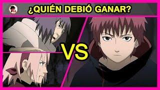 Naruto Shippuden: Sakura y Chiyo Vs Sasori - QUIEN DEBIO GANAR