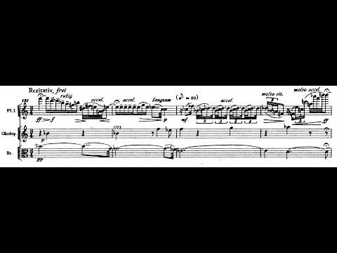 """Die Harmonie der Welt Symphony"" by Paul Hindemith (Audio + Full Score)"