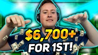 BIG $55 FINAL TABLE, $6,700+ FOR 1ST PLACE!!! | PokerStaples Stream Highlights