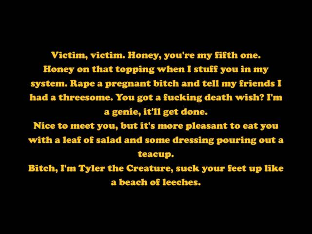 The Top 10 Wildest Tyler The Creator Lyrics