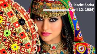 Top 10 Most Beautiful women in Afghanistan