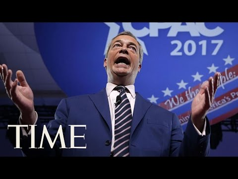 Nigel Farage Links Brexit To President Trump's Win, Calls On European Voters To Follow Suit | TIME