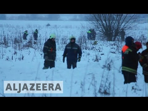 🇷🇺 Russia investigators search Saratov plane crash site
