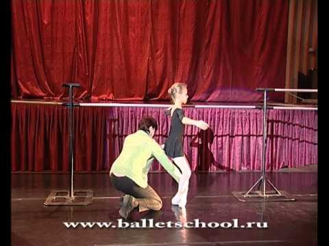 Russian ballet lesson before YAGP Paris 2013, teacher Tatiana Petrova.