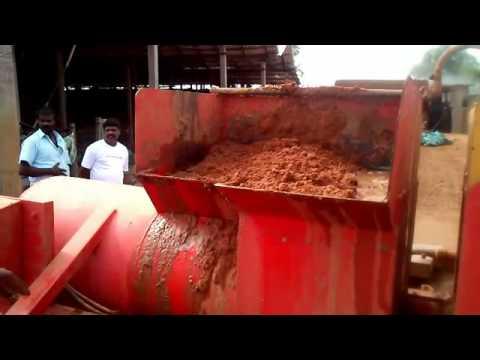 Clay Brick Making Machine in...