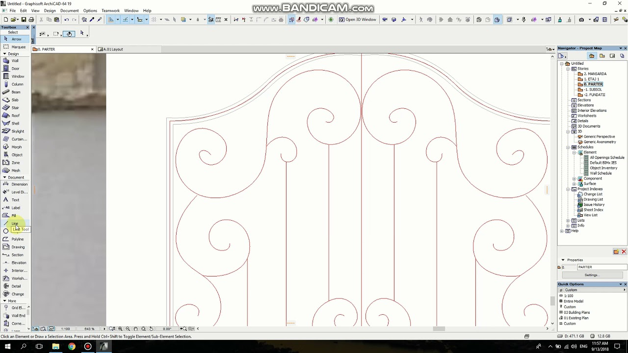 Archicad Tutorial How To Make An Wrought Iron Gate Youtube