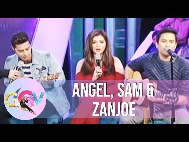 """GGV: Angel, Sam, & Zanjoe perform """"Hinahanap-Hanap Kita"""""""