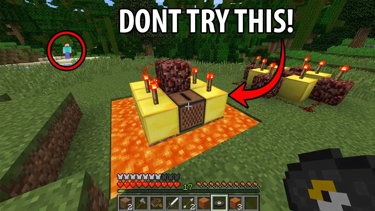 I played Disc 13 on the Herobrine Seed... Don't try this ...