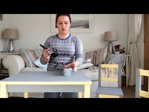 Rust-oleum chalk furniture paint review