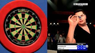 PS3 PDC World Darts Championship Match part 1 - WWFC_07 vs daviebhoy08