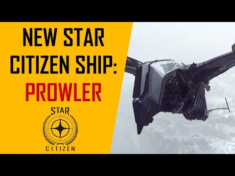 New Star Citizen ship: The Prowler