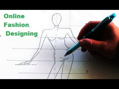 How To Draw Tutorial Fashion Drawing For Beginners 1 Justine Leconte Youtube