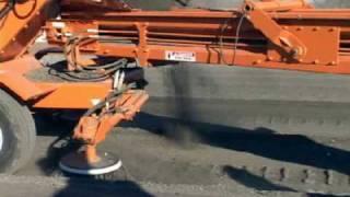 Video still for Broce Broom MK1 Gutter Brush Transfer Sweeper