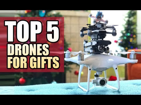 TOP 5 DRONES for Gifts