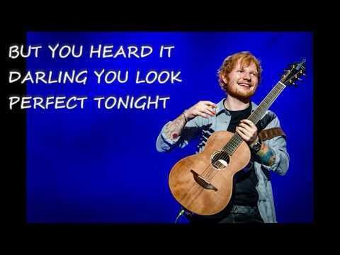 Ed Sheeran - PERFECT ( Lyrics)