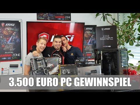 3.500 Euro Gaming-PC Zusammenbau mit der8auer & Core i7-7800X Overclocking