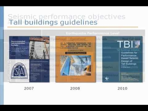 (2/13) PBEE for Tall Building Design: Overview of Performance-Based Earthquake Engineering