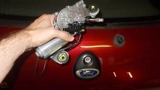 Ford Fiesta Rear Wiper Motor Change