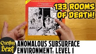 Anomalous Subsurface Environment Level 1: OSR DnD Megadungeon Review