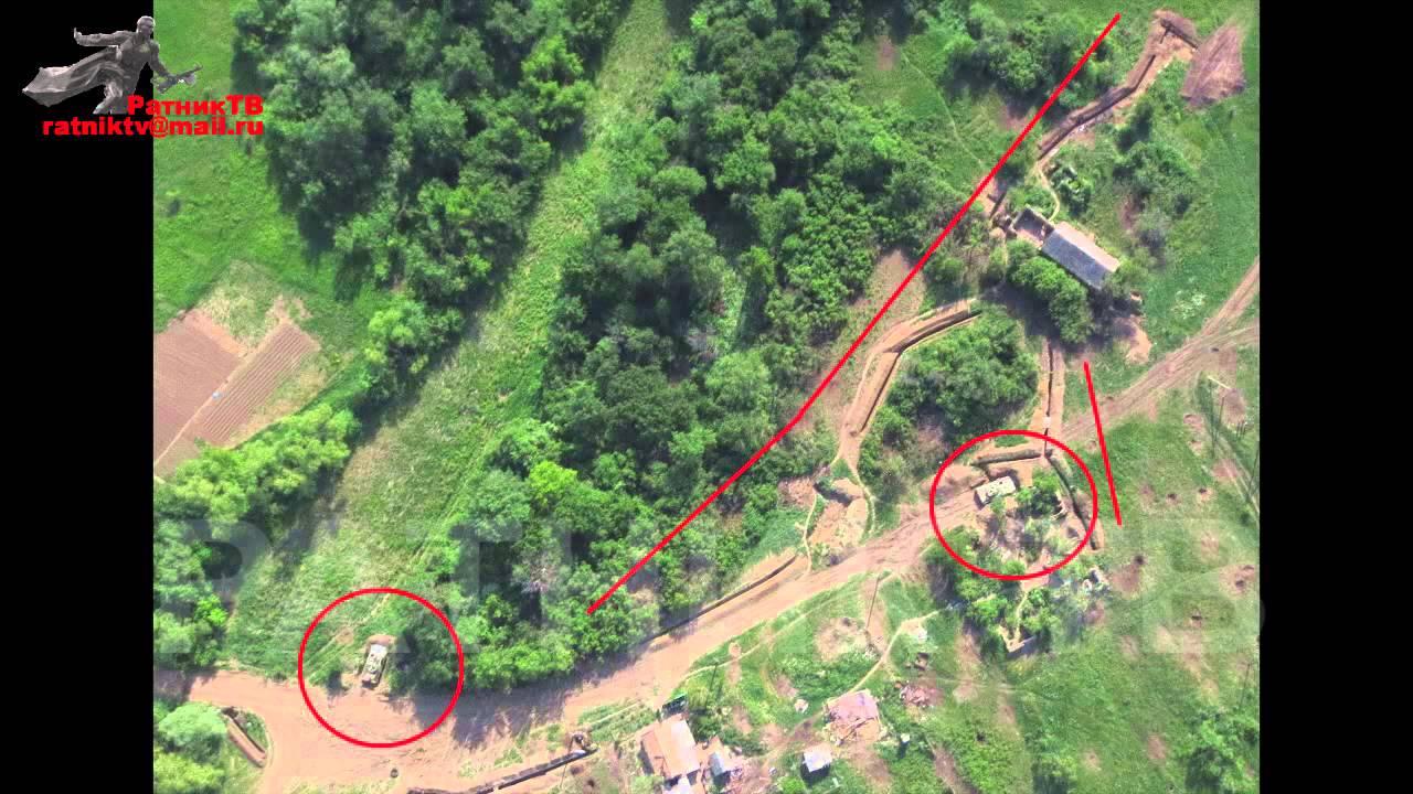 Беспилотники ДНР обнаружили тяжелую технику ВСУ