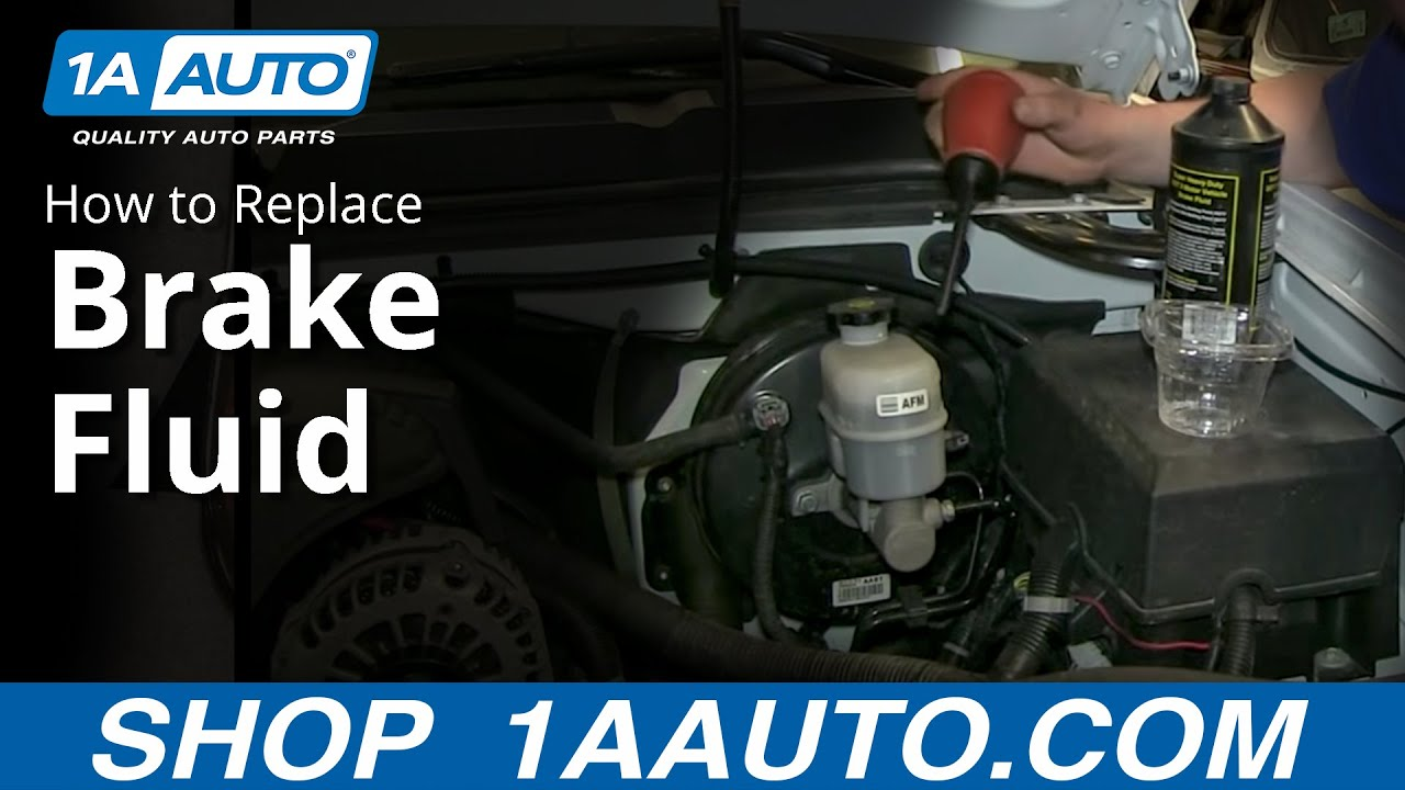 How To Change Brake Fluid >> Brake Fluid Types Simple Way To Change The Fluid In The Brake Master Cylinder
