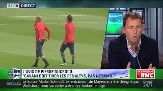 After Foot du lundi 18/09 – Partie 1/6 - L'avis tranché de Pierre Ducrocq sur Cavani