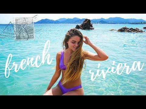 FRENCH RIVIERA TRAVEL VLOG | Tess Florio