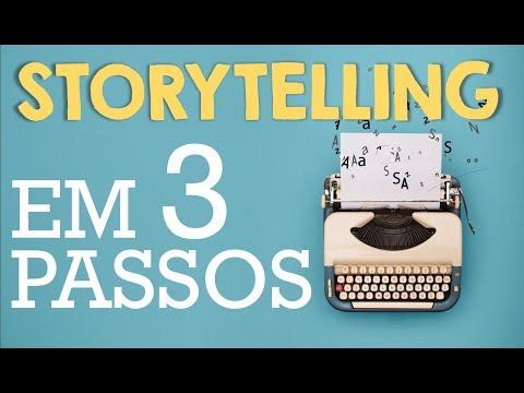 Dicas de Storytelling: Uma história em 3 PASSOS!