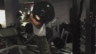 Ez Barbell Curl 115 pound 52 kg