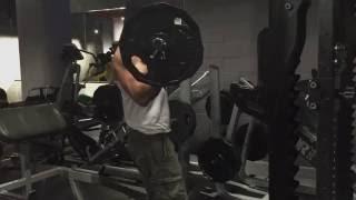 Ez Barbell Curl 115 pound 52 kg