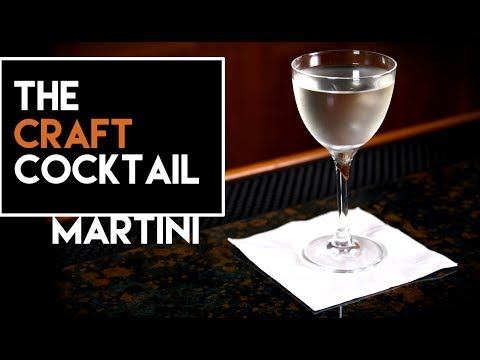 🍸🍸 How To Make a Gin Martini / Easy Gin Cocktails Series 2