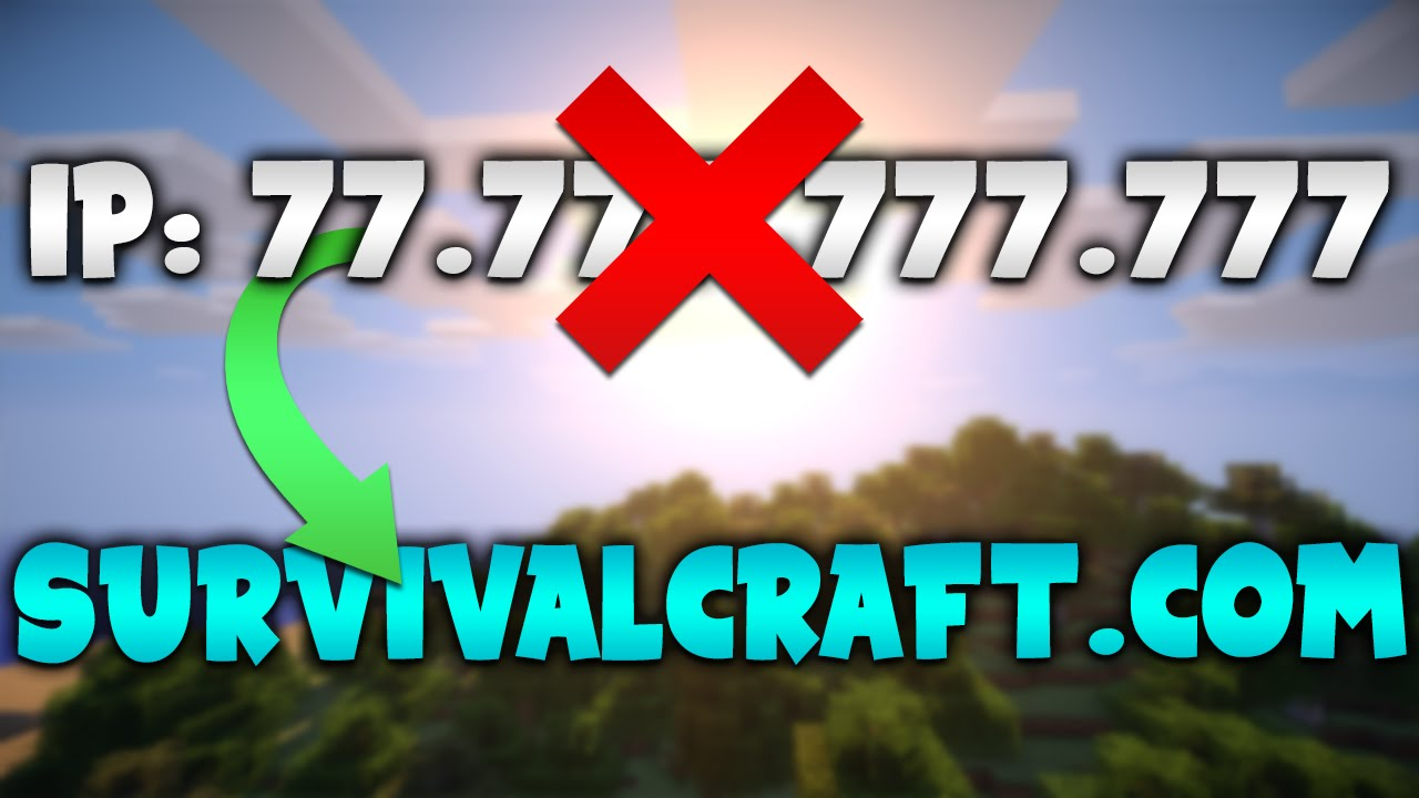 How to Turn Minecraft Server IP into a DOMAIN YouTube