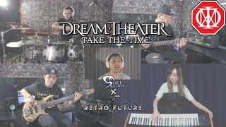 Dream Theater - Take The Time Cover by Sanca Records ft. Mio Nakamura Retro Future X LC Records