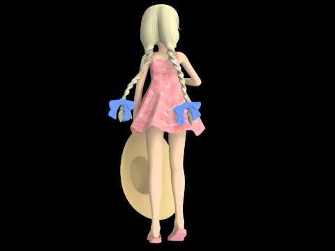 Maya 3D Loli Modeling