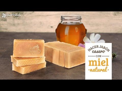 5870c1d3d2a Cómo hacer jabón casero con Miel natural - YouTube