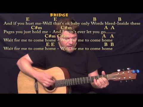Photograph (Ed Sheeran) Strum Guitar Cover Lesson in E with Chords/Lyrics