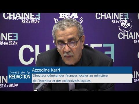 Azzedine Kerri Directeur général des finances locales