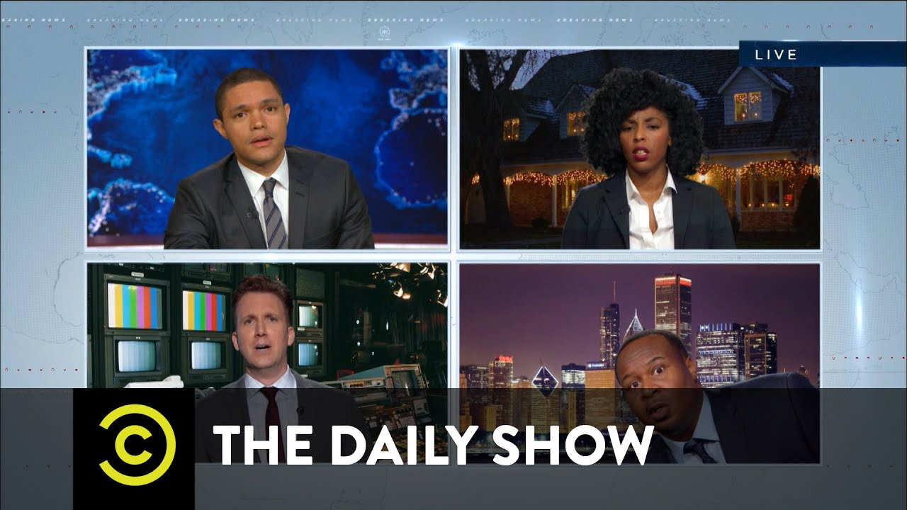 The War on Zombie Christmas: The Daily Show - YouTube