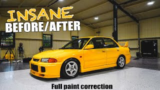 homepage tile video photo for EVO III gets an INSANE Paint Correction! (CRAZY BEFORE & AFTER)
