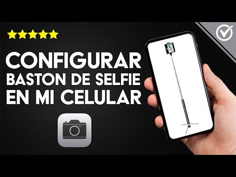 Cómo Conectar y Configurar Bastón o Palo Selfie con un Móvil Android o iPhone por Cable o Bluetooth