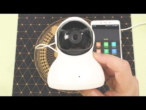 Xiaomi YI Dome / ЛУЧШАЯ сетевая IP камера ночного видения + радионяня ► ПОДРОБНЫЙ ОБЗОР