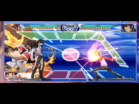 Psp Katekyo Hitman Reborn Battler Arena 2 X Burner Youtube