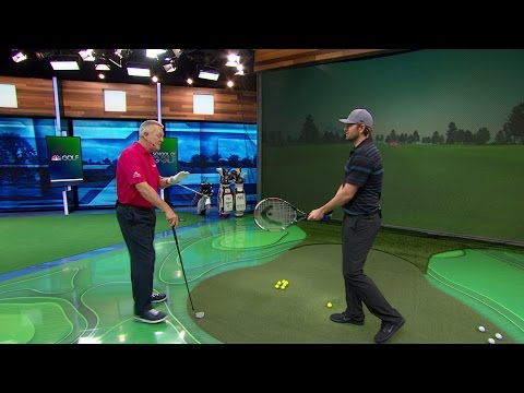 School of Golf: Mardy Fish Compares Golf Swing with Tennis | Golf Channel