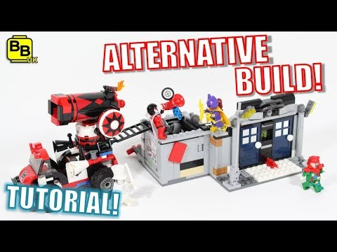 LEGO BATMAN 70921 ALTERNATIVE BUILD GOTHAM CITY BANK HEIST!