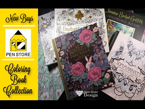 WHAT I BOUGHT: Got new books | Coloring Book Collection | Pen Store experience | International Buyer