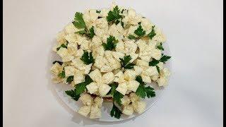 "САЛАТ ""БЕЛЫЕ РОЗЫ"" (""white roses"" salad)"